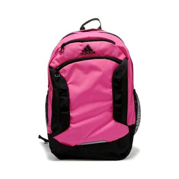 bedd2eea1ea7 NWT ADIDAS Excel III Backpack PINK AND BLACK